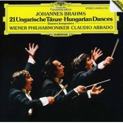 CD Brahms - Hungarian Dances Nos. 1 - 21, Deutsche Grammophon, 1984