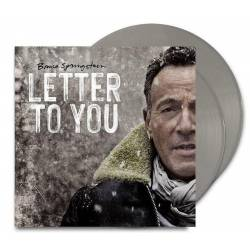 Vinyl Bruce Springsteen - Letter to You, Columbia, 2020, 2LP, 16 stranová brožúrka, farebný šedý vinyl