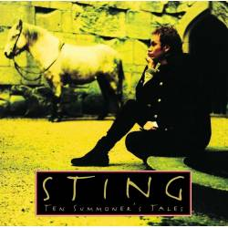 Vinyl Sting - Ten Summoner's Tales, A&M, 2016, 180g