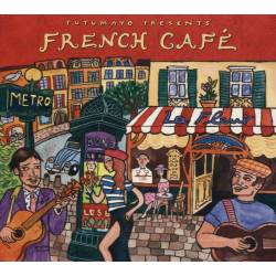 CD French Cafe, Putumayo World Music, 2015, Reissue, 5 Bonus Tracks
