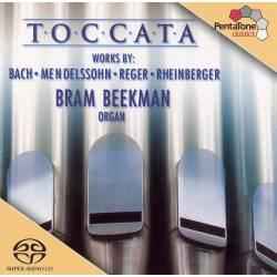 Hybrid SACD Bach/Mendelssohn/Reger/Rheinberger - Toccata: 200 Years, Pentatone, 2002
