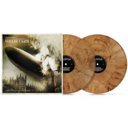 Vinyl Led Zeppelin - Many Faces of Led Zeppelin, Music Brokers, 2021, 2LP, Limitovaná edícia, Priesvitný oranžovo-mramorový vinyl