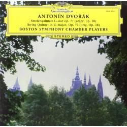 Vinyl Antonín Dvořák - String Quintet in G Major, Deutsche Grammophon, 2015
