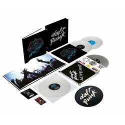 Vinyl / LP box Daft Punk - Alive, Pig, 2014, 4LP + Kniha, Limitovaná deluxe edícia