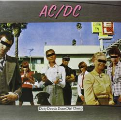 Vinyl AC/DC - Dirty Deeds Done Dirt Cheap, Epic, 2009, 180g