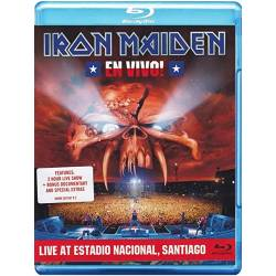 Blu-ray Iron Maiden - En Vivo! Live in Santiago 10.4.2011, EMI, 2012