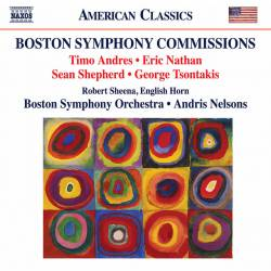 CD Andris Nelsons - Boston Symphony Comissions, Naxos, 2019