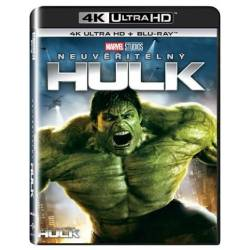 Blu-ray Neuveriteľný Hulk, UHD + BD, CZ dabing