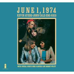 Vinyl Kevin Ayers/John Cale/Brian Eno/Nico - June 1 1974, Elemental, 2018, Limited Edition, Remaster, Gatefold Sleeve