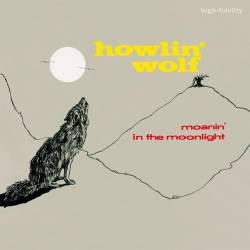 Vinyl Howlin' Wolf - Moanin' in the Moonlight, Waxtime in Color, 2018, HQ, Limited Edition, Coloured Red Vinyl