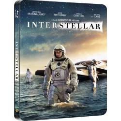 Blu-ray Interstellar 2BD, Steelbook