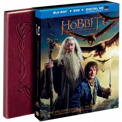 Blu-ray Hobit: Bitva Pěti Armád 3D 4BD, Hobbit: The Battle Of The Five Armies