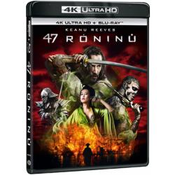 Blu-ray 47 róninů, UHD + BD, CZ dabing