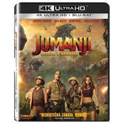 Blu-ray Jumanji: Vítejte v džungli!, Jumanji: Welcome to the Jungle, UHD + BD, CZ dabing