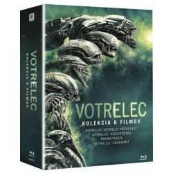 Blu-ray Votrelec: Kompletná kolekcia, 6BD