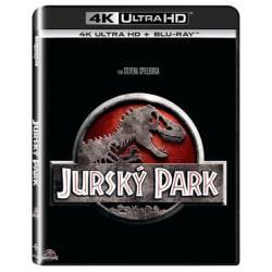 Blu-ray Jurský Park, The Jurassic Park, UHD + BD, CZ dabing