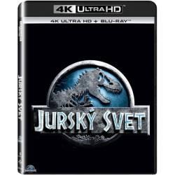 Blu-ray Jurský Svet, The Jurassic World, UHD + BD, CZ dabing