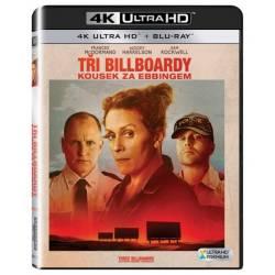 Blu-ray Tri bilboardy kúsok za Ebbingom, Three Billboards Outside Ebbing, Missoury, UHD + BD, CZ dabing