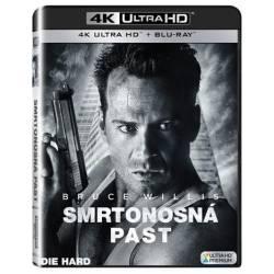 Blu-ray Smrtonostná past, UHD + BD, CZ dabing