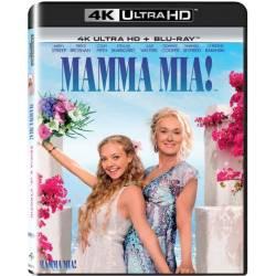 Blu-ray Mamma Mia!, UHD + BD, CZ dabing