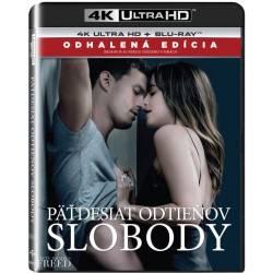 Blu-ray Päťdesiat odtieňov slobody, Fifty Shades Freed, UHD + BD, CZ dabing, Odhalená edícia