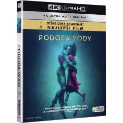 Blu-ray Podoba vody, The Shape of Water, UHD + BD, CZ dabing
