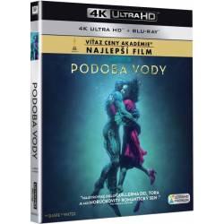 Blu-ray Podoba vody, The Shape of Water, UHD + BD, CZ dabing