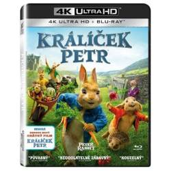 Blu-ray Králik Peter, UHD + BD, SK dabing