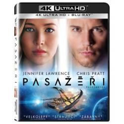 Blu-ray Pasažéři, Passengers, UHD + BD, CZ dabing