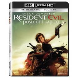 Blu-ray Resident Evil: Poslední kapitola, Resident Evil: The Final Chapter, UHD + BD, CZ dabing