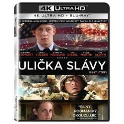 Blu-ray Ulička slávy, Billy Lynn's Long Halftime Walk, UHD + BD, CZ dabing