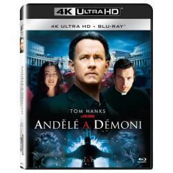 Blu-ray Anjeli a démoni, Angels & Demons UHD + BD, CZ dabing