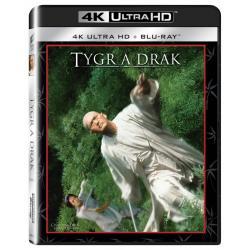 Blu-ray Tygr a drak, Crouching Tiger, Hidden Dragon, UHD + BD, CZ dabing