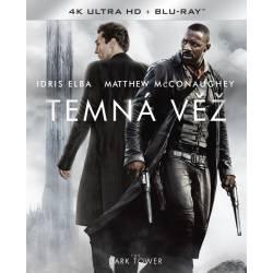 Blu-ray Temná véž, The Dark Tower, UHD + BD, CZ dabing