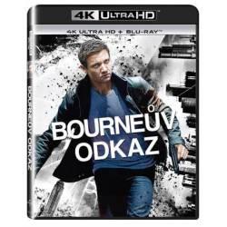 Blu-ray Bourneův odkaz, The Bourne Legacy, UHD + BD, CZ dabing
