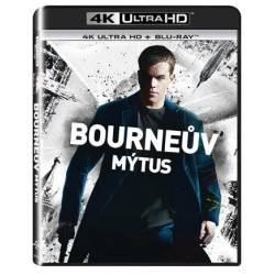 Blu-ray Bourneův mýtus, Bourne Supermacy, UHD + BD, CZ dabing