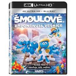 Blu-ray Šmoulové: Zapomenutá vesnice, Smurfs: The Lost Village, UHD + BD, CZ dabing