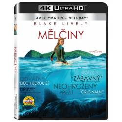 Blu-ray Mělčiny, The Shallows, UHD + BD, CZ dabing