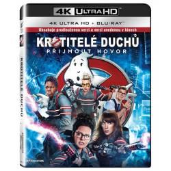 Blu-ray Krotitelé duchů 2016, Ghostbusters 2016, UHD + BD, CZ dabing