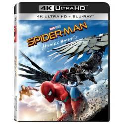 Blu-ray Spider-man: Homecoming, UHD + BD, CZ dabing