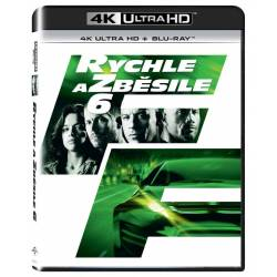 Blu-ray Rychle a zběsile 6, Fast & Furious 6, UHD + BD, CZ dabing