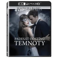 Blu-ray Padesát odstínů temnoty, Fifty Shades Darker, UHD + BD, CZ dabing