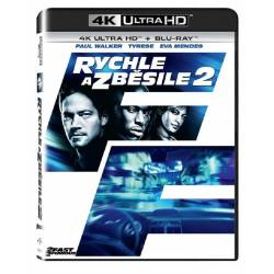 Blu-ray Rychle a zběsile 2, Fast and Furious 2, UHD + BD, CZ dabing