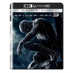 Blu-ray Spider-Man 3, UHD + BD, CZ dabing
