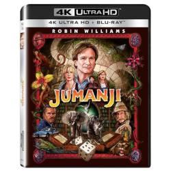 Blu-ray Jumanji, UHD + BD, CZ dabing