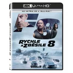 Blu-ray Rychle a zběsile 8, The Fate of the Furious, UHD + BD, CZ dabing