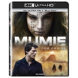 Blu-ray Mumie  (2017), The Mummy (2017), UHD + BD, CZ dabing