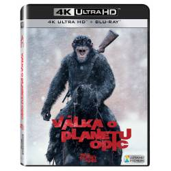 Blu-ray Válka o planetu opic, War of the Planet of Apes, UHD + BD, CZ dabing