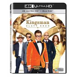 Blu-ray Kingsman: Zlatý kruh, Kingsman: The Golden Circle, UHD + BD, CZ dabing