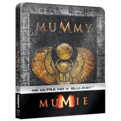 Blu-ray Mumie (1999), The Mummy (1999), UHD + BD, Steelbook, CZ dabing